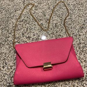Handbags - Pink Shoulder Bag/Clutch